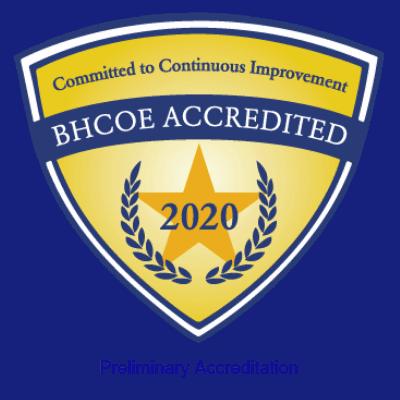 BHCOE Accredited
